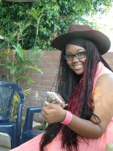Bwalya as Sandy
