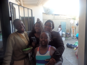 I will always love you and Someone like you Karaoke in three generations. Ndeke, Me, Mum and my daughter!